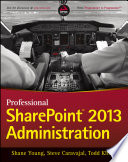 Professional Sharepoint 2013 Administration