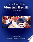 Encyclopedia Of Mental Health Book PDF