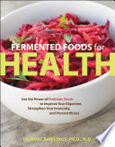 Fermented Foods for Health Book PDF