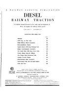 Diesel Railway Traction