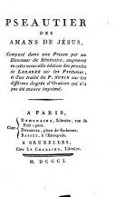 Psautier des amans de Jésus