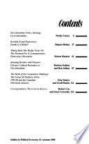 Studies in Political Economy  , Issues 61-63