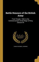BATTLE HONOURS OF THE BRITISH
