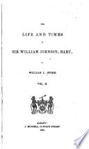 The Life and Times of Sir William Johnson  Bart