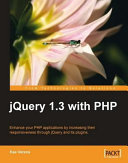 Jquery 1 3 with PHP