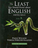 The Least You Should Know about English: Writing Skills, Form A