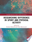 Researching Difference in Sport and Physical Activity