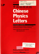 Chinese Physics Letters