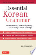 Essential Korean Grammar Book