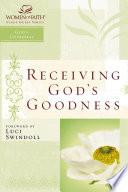 Receiving God s Goodness Book