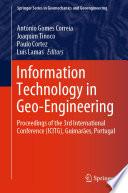 Information Technology in Geo Engineering Book