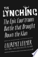 The Lynching Laurence Leamer Cover