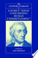 The Cambridge Companion to Locke's 'Essay Concerning Human Understanding'