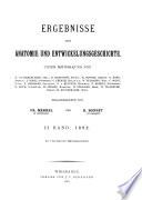 Ergebnisse der Anatomie und Entwicklungsgeschichte Book