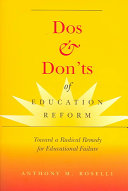 Dos & Don'ts of Education Reform