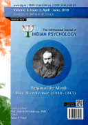 International Journal of Indian Psychology  Volume 6  Issue 2   No  3