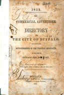 The Commercial Advertiser Directory for the City of Buffalo