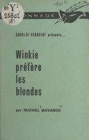 Pdf Winkie préfère les blondes