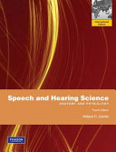 Cover of Speech and Hearing Science