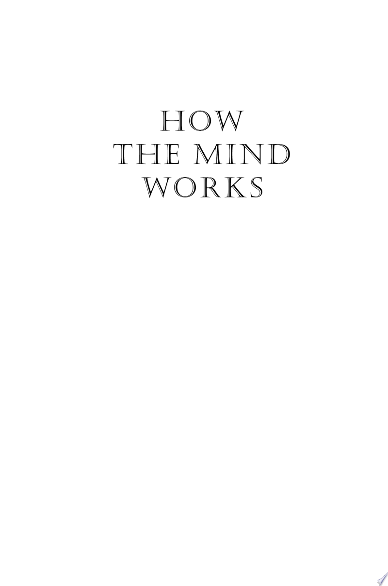How the Mind Works banner backdrop