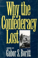 Why the Confederacy Lost Book