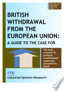 British Withdrawal From The European Union