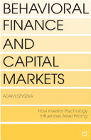 Pdf Behavioral Finance and Capital Markets Telecharger