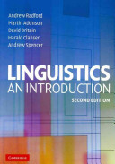 Cover of Linguistics