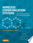 Wireless Communication Systems Book