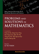 Problems and Solutions in Mathematics Pdf/ePub eBook