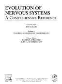 Evolution of Nervous Systems Book