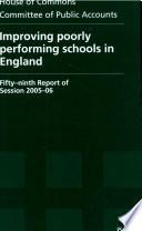 Improving Poorly Performing Schools In England Book