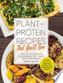 Plant Protein Recipes That You ll Love Book PDF