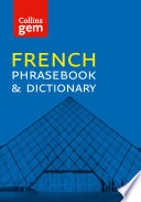 Collins French Phrasebook and Dictionary Gem Edition ebook  Collins Gem