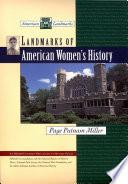 Landmarks of American Women's History