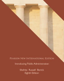 Introducing Public Administration Pearson New International Edition