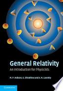General Relativity Book