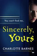 Sincerely, Yours Pdf/ePub eBook