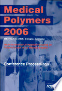 Medical Polymers 2006 Book