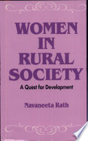 Women in Rural Society  : A Quest for Development