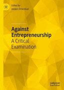 Against Entrepreneurship