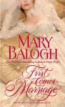 First Comes Marriage Pdf/ePub eBook