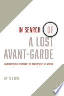 In Search of a Lost Avant Garde Book