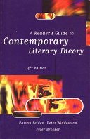 A Reader S Guide To Contemporary Literary Theory