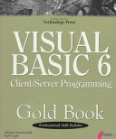 Visual Basic 6 Client/Server Programming Gold Book