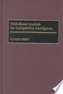 Web based Analysis for Competitive Intelligence Book