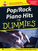 Pop Rock Piano Hits for Dummies  Songbook