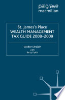 St James S Place Tax Guide 2008 2009