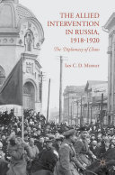 Pdf The Allied Intervention in Russia, 1918-1920 Telecharger