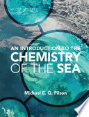 An Introduction to the Chemistry of the Sea Book PDF